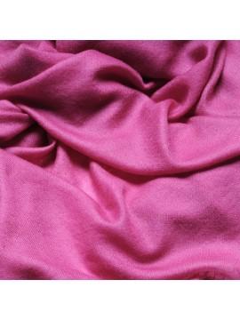 Handwoven cashmere pashmina Stole heather pink