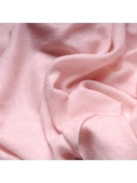 Etole véritable Pashmina 100% cachemire rose pastel
