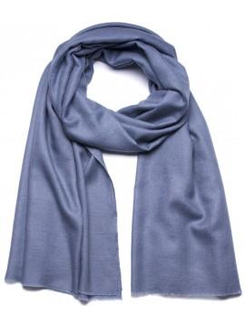 Handwoven cashmere pashmina Shawl Storm grey