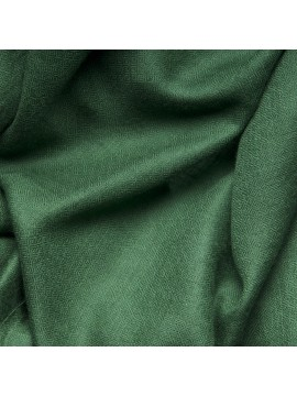 Handwoven cashmere pashmina Stole Moss green