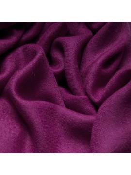 Handwoven cashmere pashmina Shawl Plum