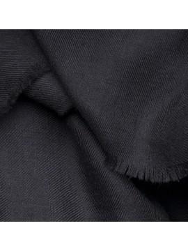 TOOSH PASHMINA Noir Véritable Pashmina 100% cachemire