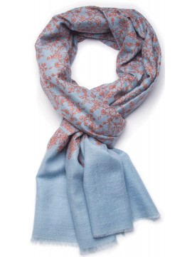 JULIET SKY, real pashmina 100% cashmere with handmade embroideries