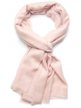 Genuine light pink pashmina 100% cashmere