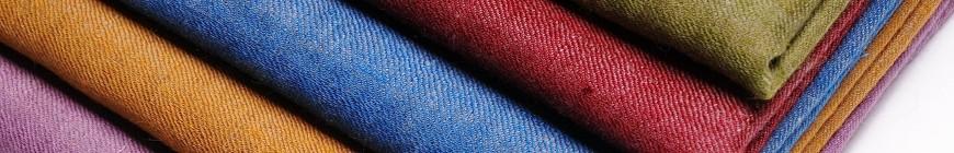 Le Pashmina RÉVERSIBLE bicolore 100% cachemire